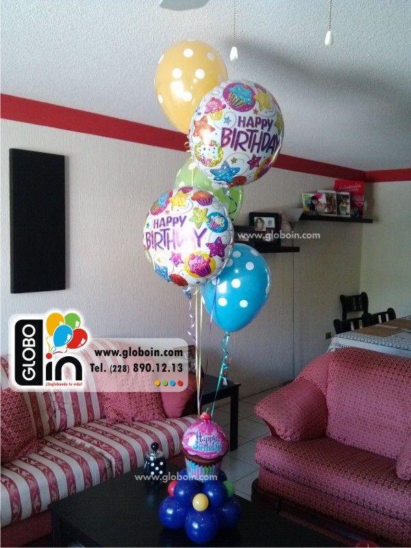 15 best images about decoracion con globos en xalapa on - Decoracion con globos para cumpleanos ...