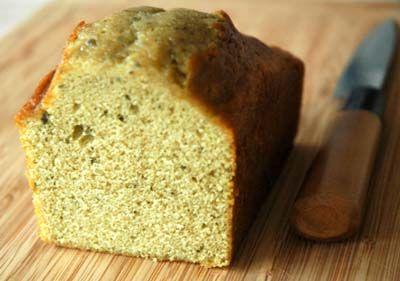 Une recette de cake au thé vert extrêmement moelleux
