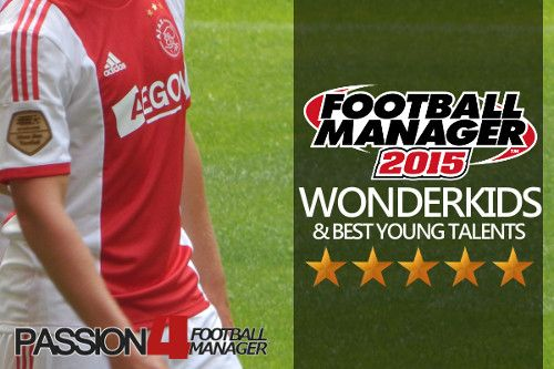 Download the best Football Manager 2015 Wonderkids shortlist