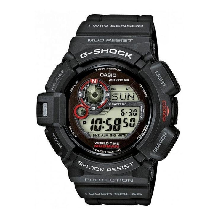 Casio G Shock Mudman Digital Dial Men's Watch