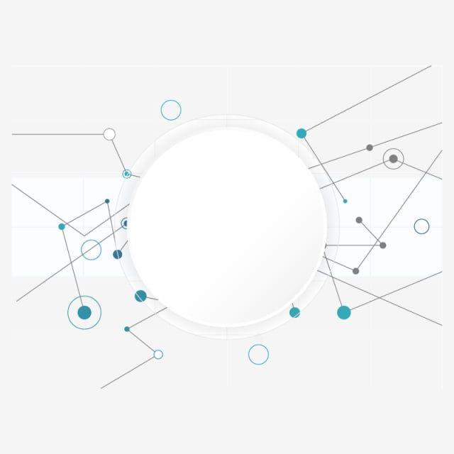 التكنولوجيا الرقمية مجردة الحدود الهندسية البيضاء قصاصات فنية على الإنترنت مستقبلية مفهوم Png والمتجهات للتحميل مجانا Digital Technology Digital Graphics Abstract