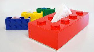 Block Tissue Box - eclectic - kids decor - by Rakuten