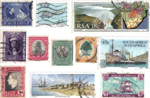 Some really old stamps on this one too . . .