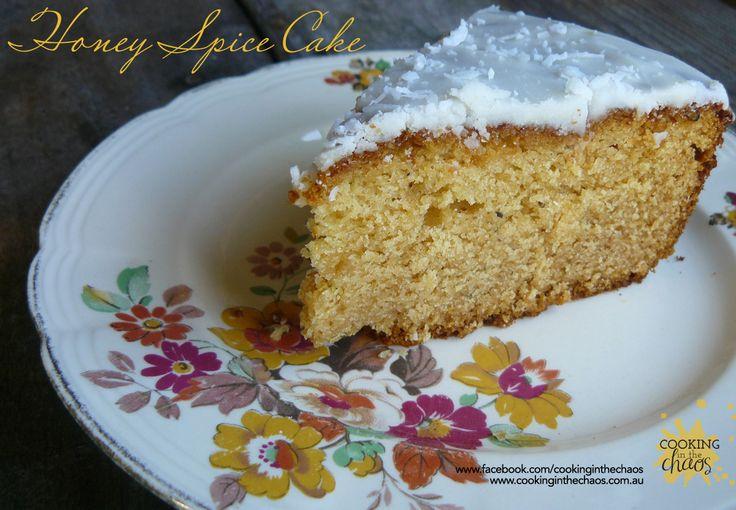Honey Spice Cake - Thermomix Recipe
