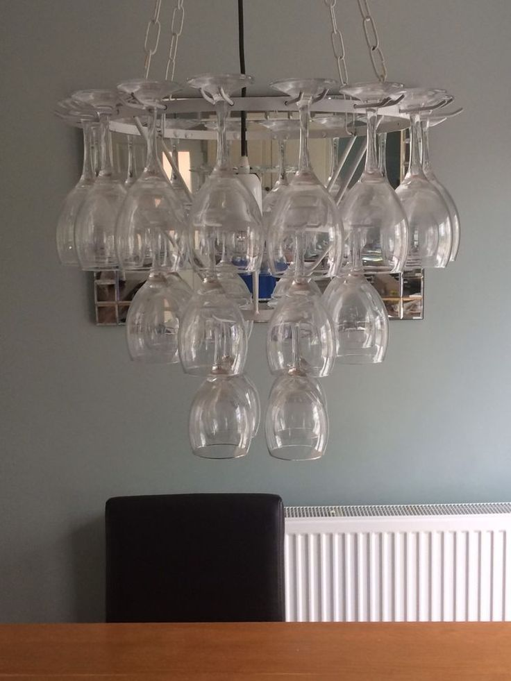 Wine Glass Chandelier  | eBay