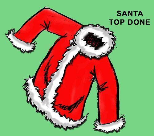 how to make a santa costume and Santa coat