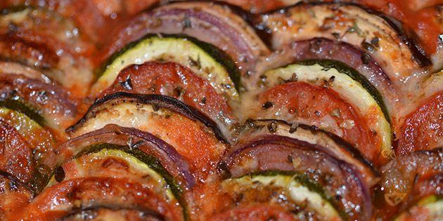 Ratatouille i ovn - nem og lækker opskrift