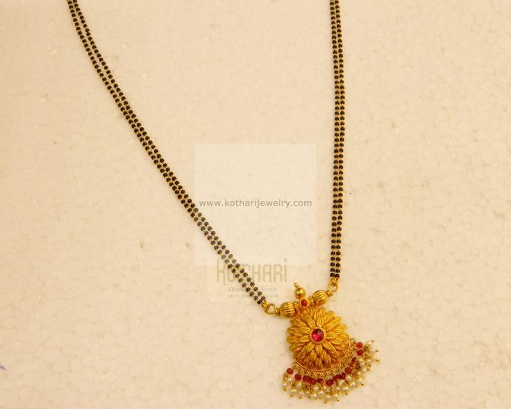 Mangalsutra / Nallapusalu - Gold Jewellery Mangalsutra / Nallapusalu (MS14221253-18) at USD 675.22 And GBP 523.01