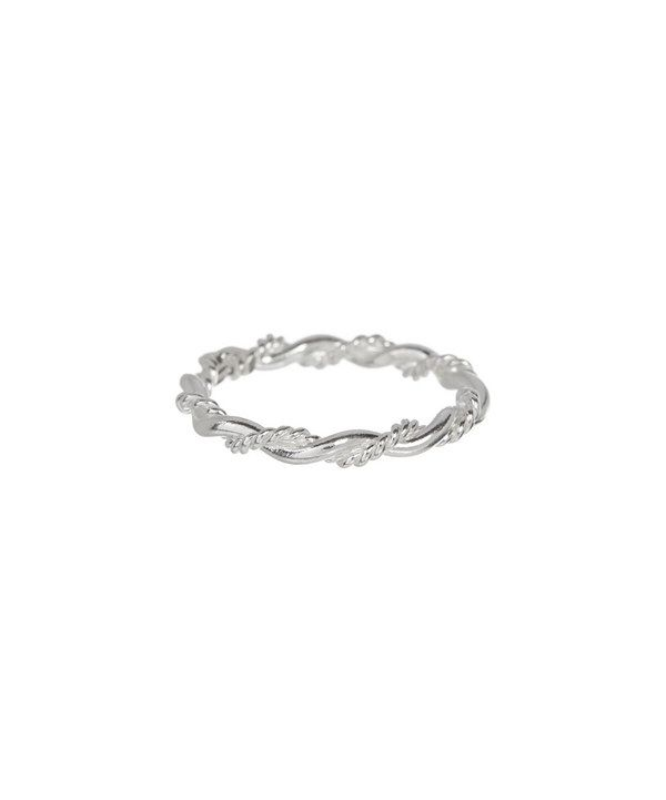 Look at this Sterling Silver Twist Ring on #zulily today!