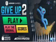 As the next version of Give Up Give Up 2 leads you all to a new journey with the blue man! Yes he's really in need of your support as a large number of dangers are just waiting for him during the trip. Take action now!