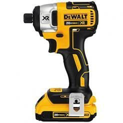 "DeWalt DCF886D2 Impact Driver Kit 20V Max L-Ion Brushless 1/4"""" Cordless"