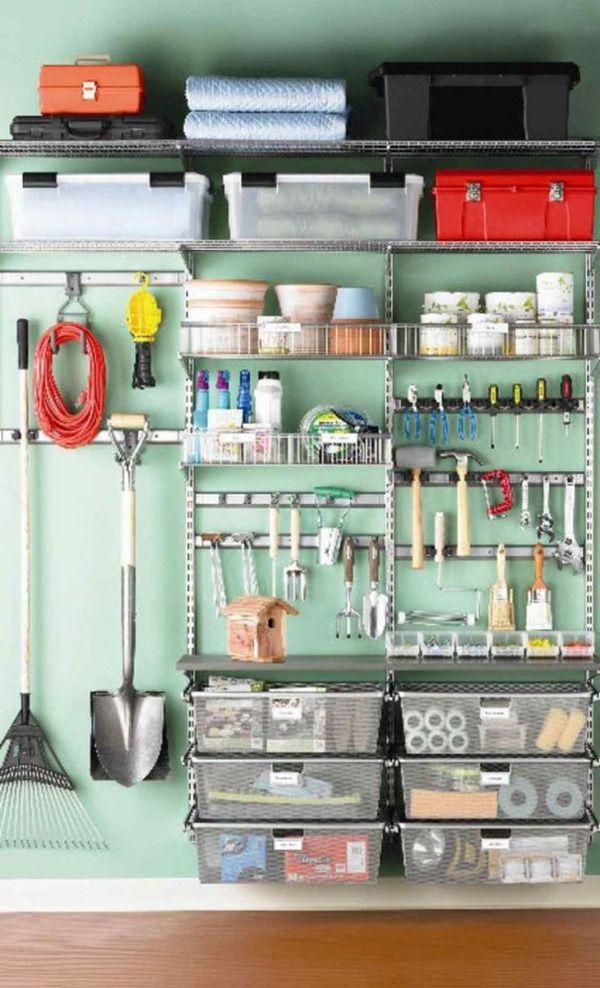 Garagens e arrecadações - dicas de arrumação: use o espaço na vertical