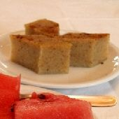 Halvas is a favorite with watermelon... and Ouzo
