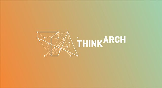 Logo: ThinkArch  Info:Logo design for ThinkArch competition organized for university students and young architects.  Design: Utopia branding agency - www.weareutopia.com