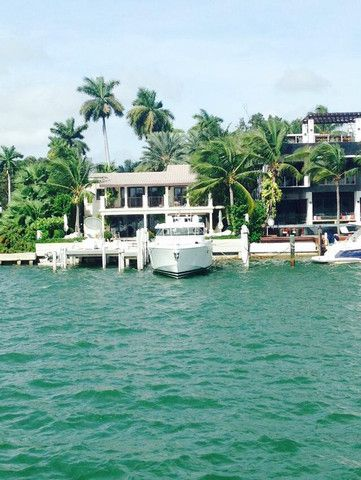 Miami   House with Boat on Lake   House Goals   Dream Living