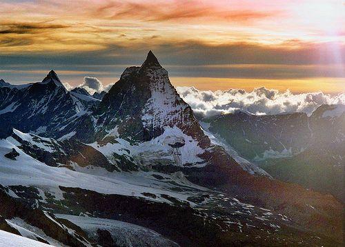 Abstieg von der Dufourspitze