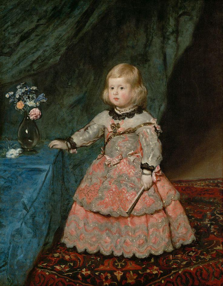 Caravaggio, L'infanta Margherita Teresa vestita di rosa, 1654, olio su tela, 128×100 cm, Kunsthistorisches Museum, Vienna imagesource: Kunsthistorisches Museum