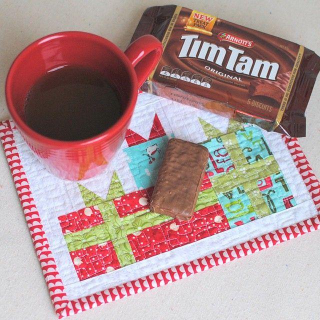 free mug rug pattern