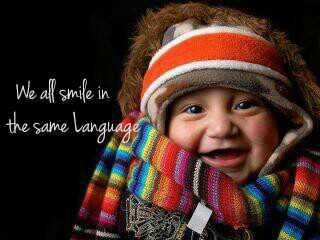 Universal emotions - smiling (happy)