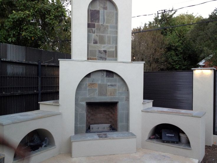 1000 images about outdoor fireplaces on