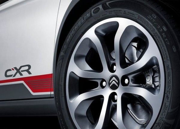 2014 Citroen C XR sport car wheels ideas 600x430 2014 Citroen C XR Review, Specification, Price with Images