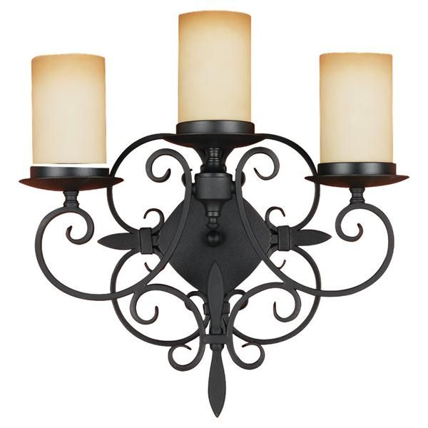 72 best wrought iron images on pinterest wrought iron french found it at wayfair feiss colonial manor 3 light wall bracket aloadofball Choice Image