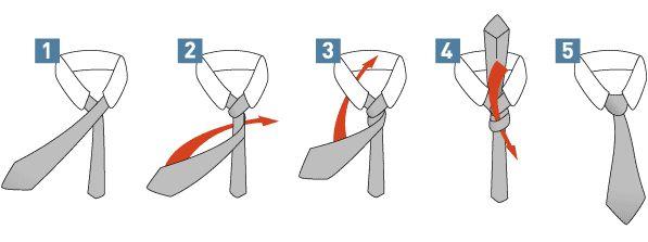 Stropdas knopen in 5 stappen   Beauty Watch