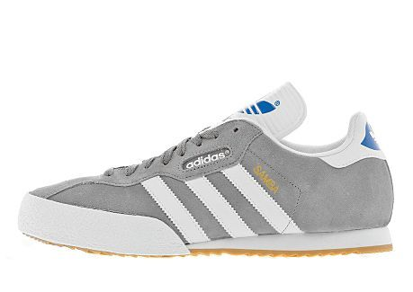 adidas samba grey white living