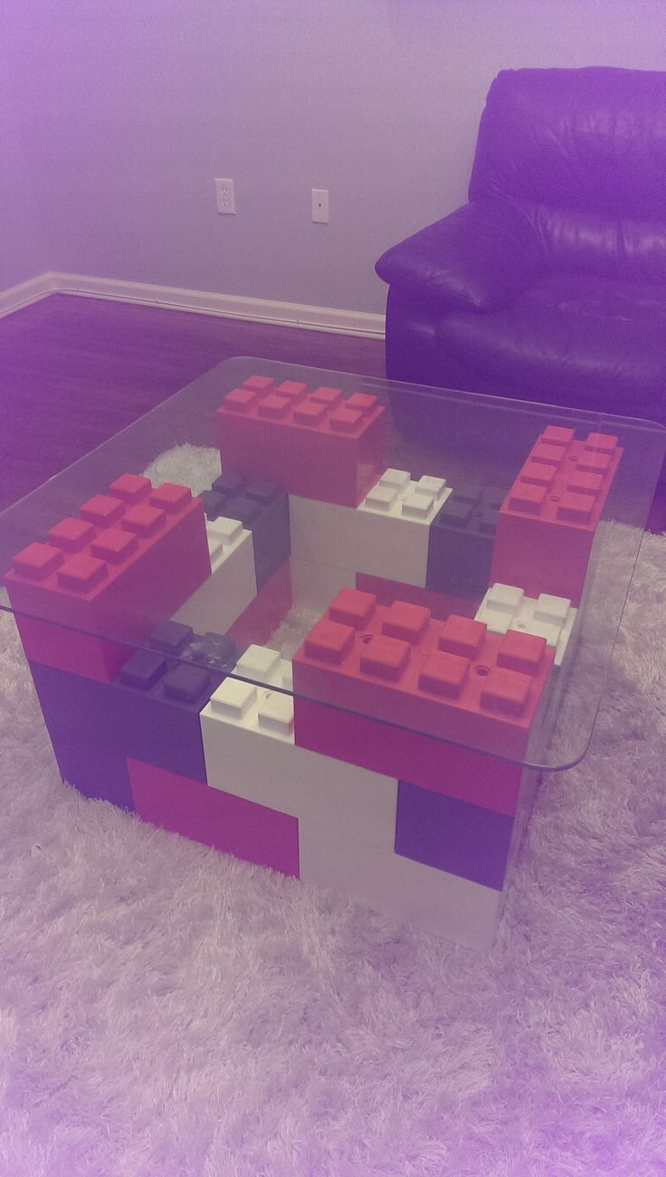 #modular #coffeetable built with #EverBlock Nice statement piece in the room!