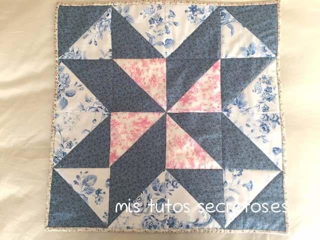 15 best images about tutoriales de patchwork on pinterest - Como hacer mantas de patchwork ...