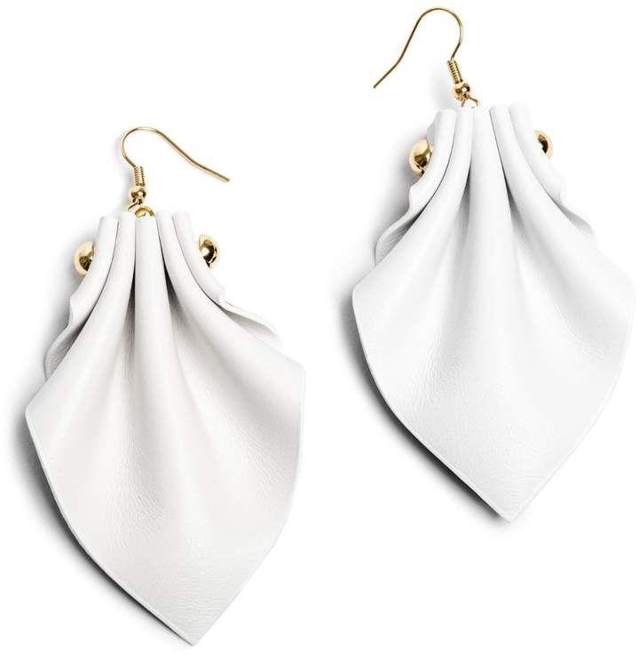 Ellia Wang - Aurora Earrings in White