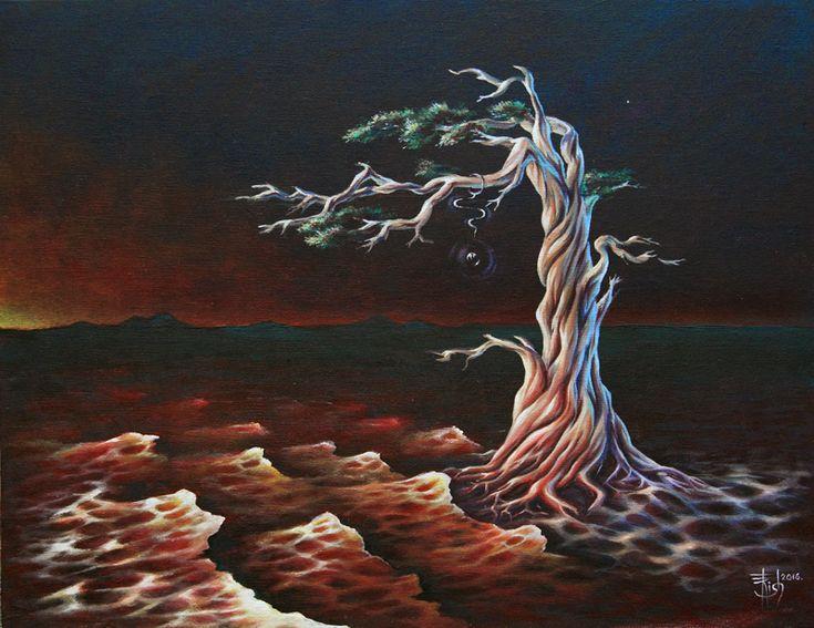 Картины МАГИЯ РУН. Trish: Кровь земли