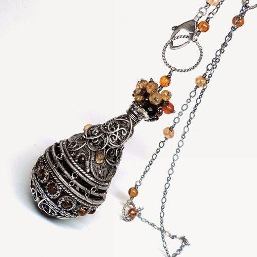 Wioleta Hajcz-biżuteria autorska: wisior