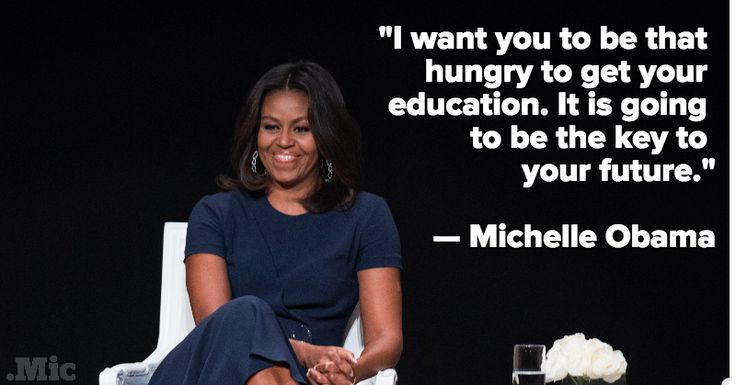 Michelle obama dating advice