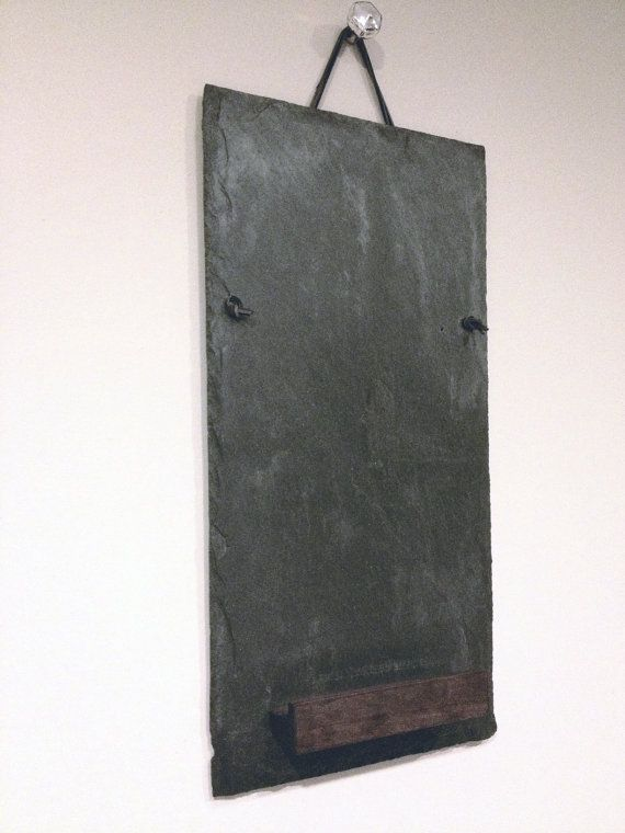 Clean and Simple Reclaimed Roof Slate Tile by Strawbryfields