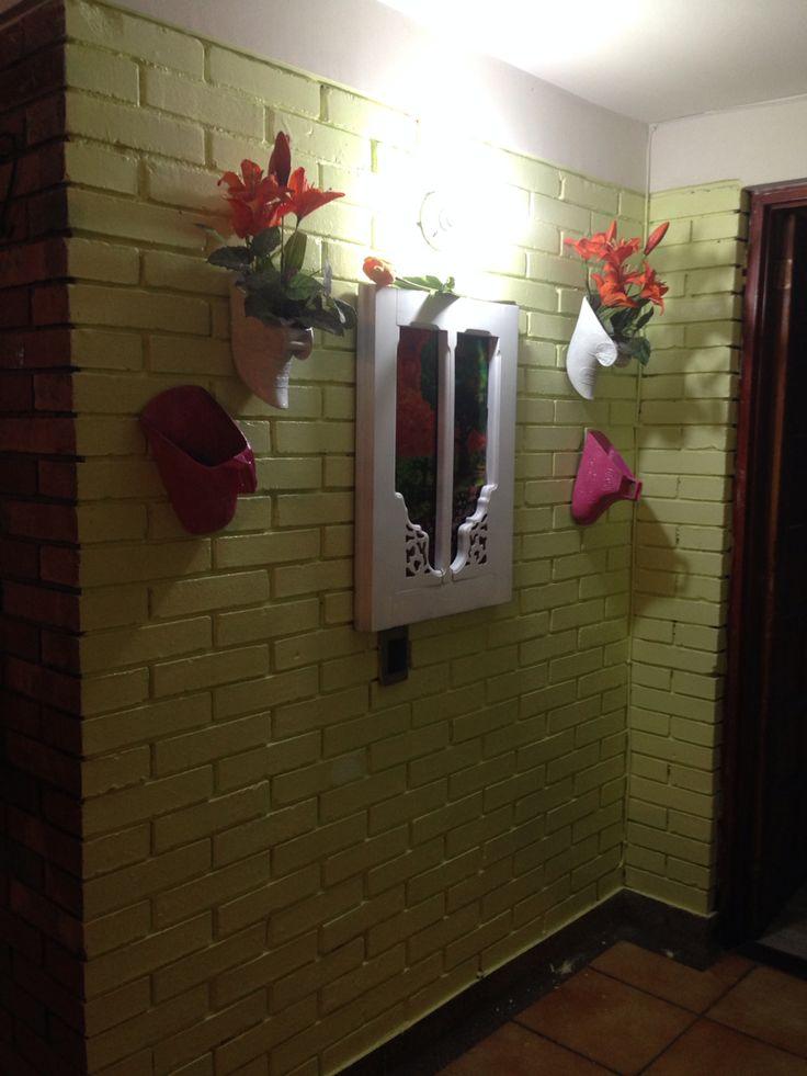 Reciclando y decorando