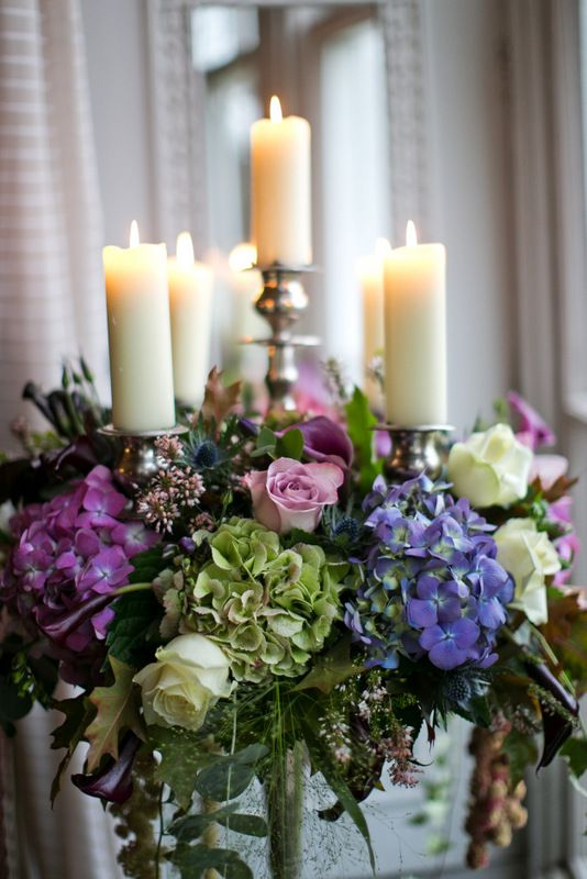 Flower Design Events: Baroque Candelabra