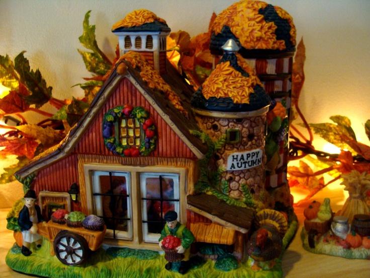 17 Best Images About Autumn Halloween Village On Pinterest
