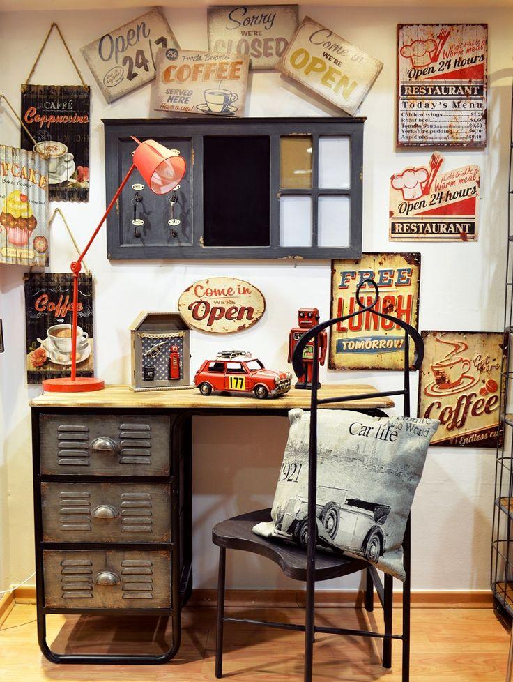 Industrial Style: Μεταμορφώστε το χώρο σας! • inart blog