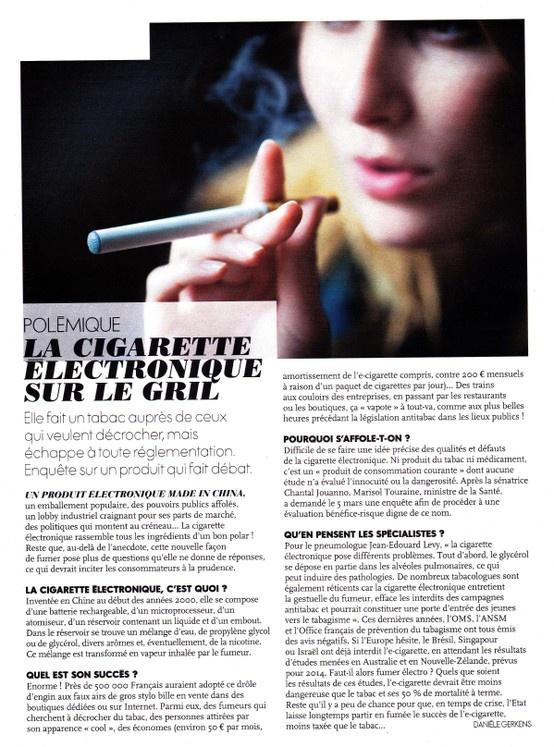 Quel avenir pour la cigarette électronique?