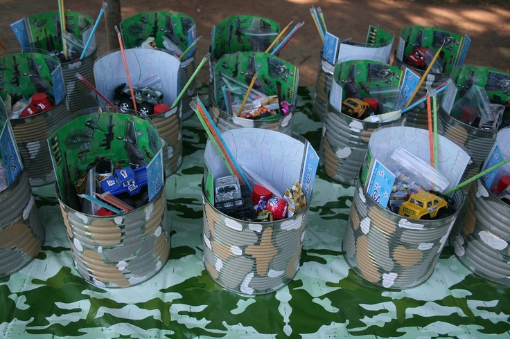 17 best images about military vbs on pinterest boot camp for Army party decoration ideas