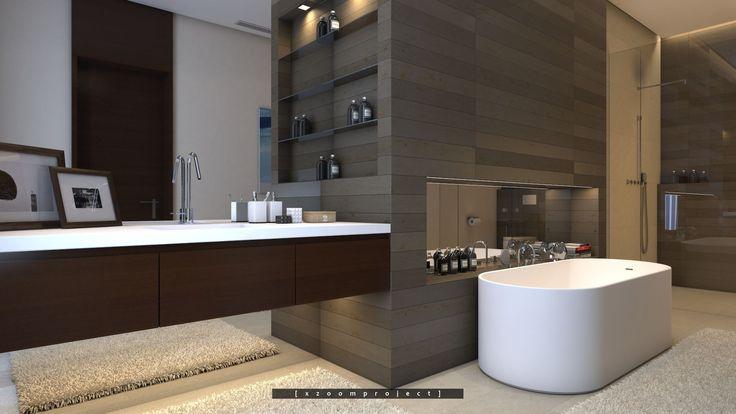Luxury Villa Interior. Saudi Arabia. Bathroom.
