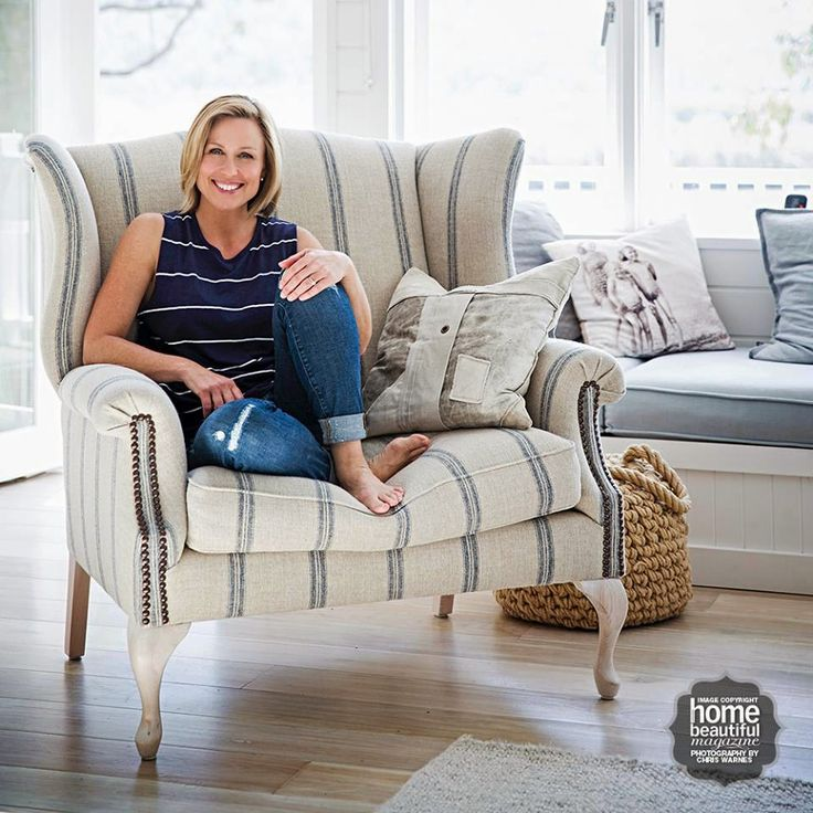 Coastal Vintage: Coastal Home - Tara Dennis Love the chair
