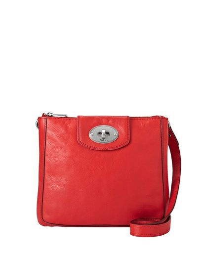 Marlow Cross-Body Bag - Tomato