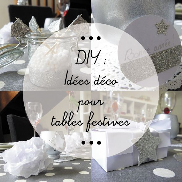 Des id es d co de table pour les f tes architecture home and places - Idee deco table de fete ...