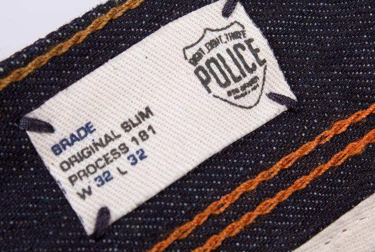 SS14 Brade Jeans #883police #denim #detail #SS14