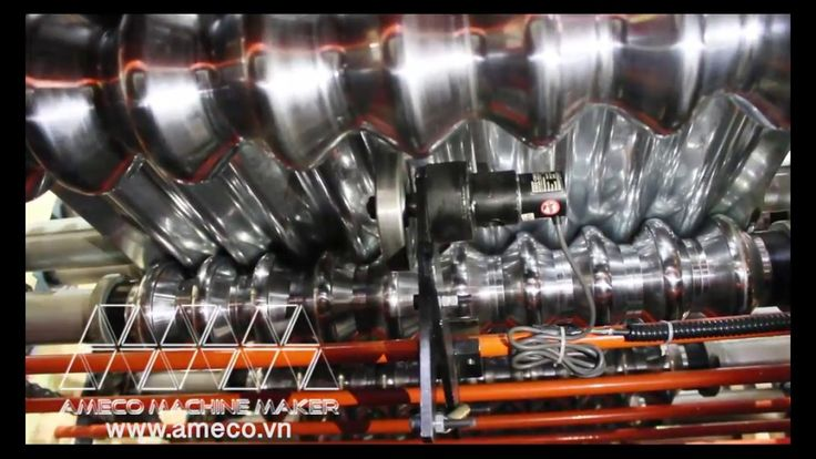 Ameco Advance Double Roofing & Corrugated Roll Forming Machine