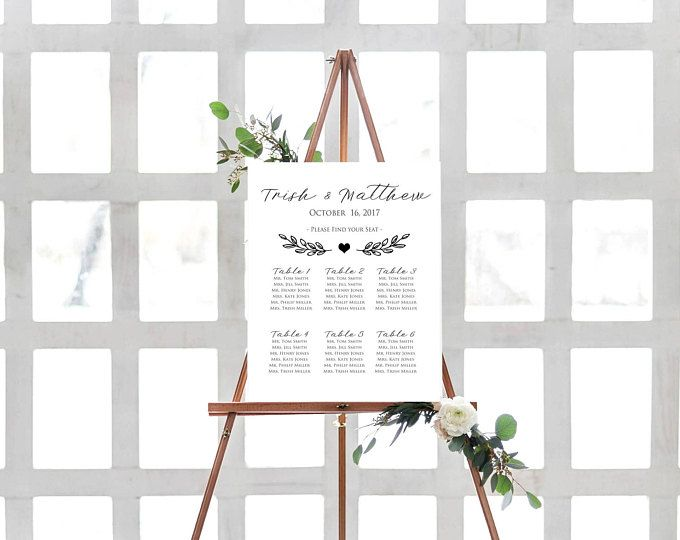 Asientos asientos de tabla tabla plantilla-boda asientos asientos Plan gráfico cartel estar carta estar por orden alfabético para imprimir carta