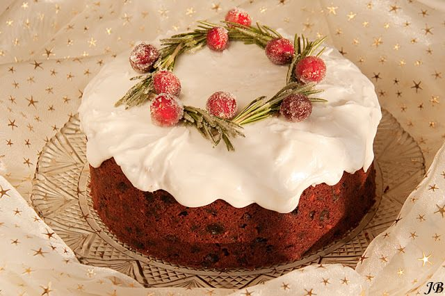 Carolines blog: Kerstcake met chocolade en vruchten
