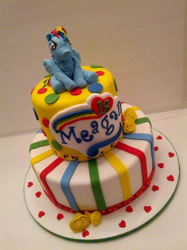Rainbow dash cake | My Gourmet Goodies | Pinterest ...